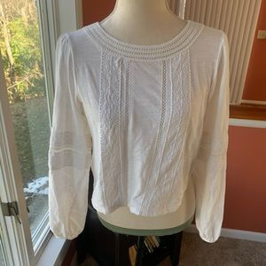 Altar'd State cropped peasant top